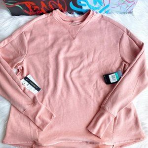 NEW Nike Dri-FIT UV Long Sleeve Golf Pink Top
